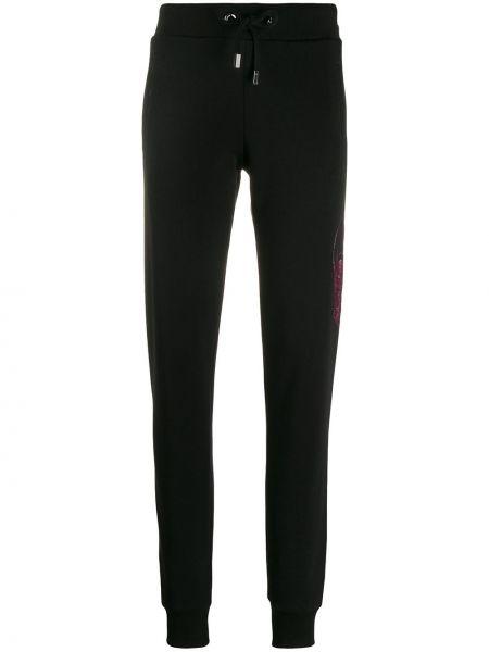Sportowe spodnie z dżetami jasny kolor Philipp Plein
