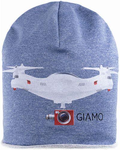 Зимняя шапка с принтом Giamo