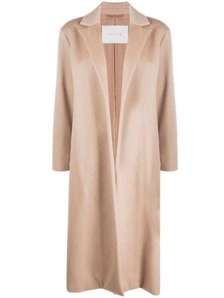 Открытое коралловое кашемировое длинное пальто Mackintosh