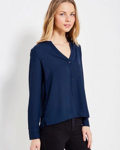 Блузка с длинным рукавом синяя Motivi