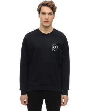 Prążkowana czarna bluza Passarella Death Squad