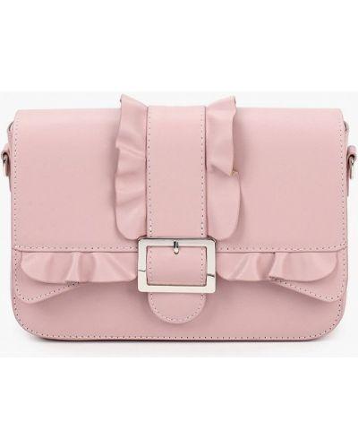 Розовая сумка из натуральной кожи Lamania