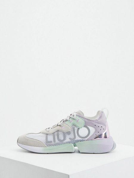 Кроссовки замшевые низкие Liu Jo