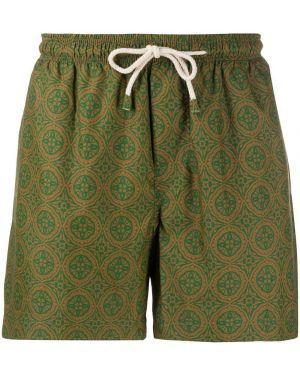 Zielone kąpielówki Peninsula Swimwear