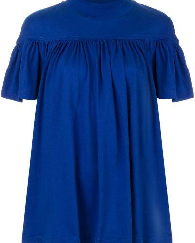 Синяя футболка Marni