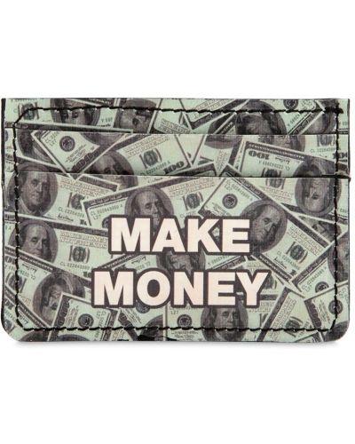 Portfel z printem Make Money Not Friends