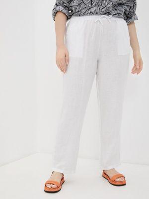 Прямые белые брюки Rosa Thea