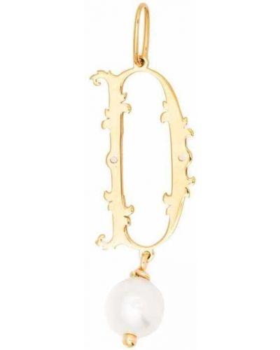 Желтое ожерелье Simone Rocha
