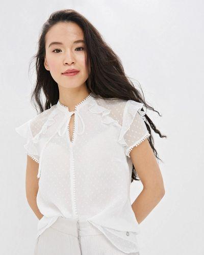Блузка с коротким рукавом белая весенний Top Secret