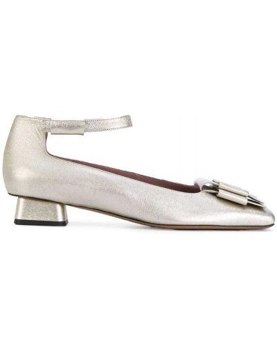 Кожаные туфли с пряжкой Rayne
