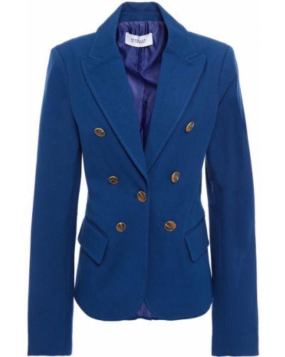 Синий пиджак с подкладкой на пуговицах Derek Lam 10 Crosby