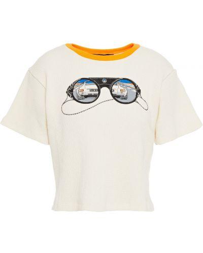 T-shirt bawełniany Simon Miller