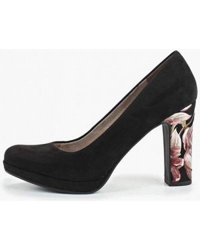Туфли закрытые велюровые Tamaris