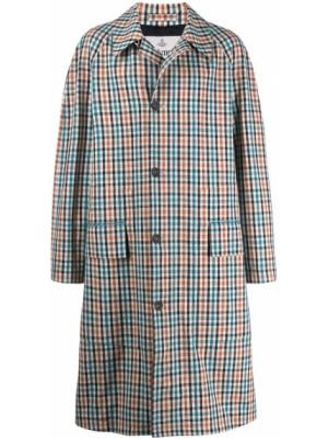 Классическое длинное пальто с воротником на пуговицах с карманами Vivienne Westwood