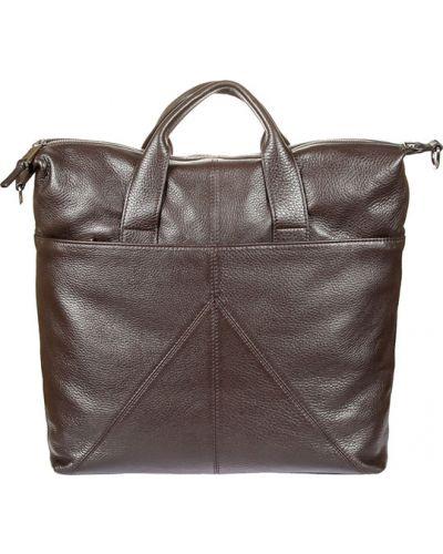 Кожаная сумка дорожняя темно-коричневый Gianni Conti