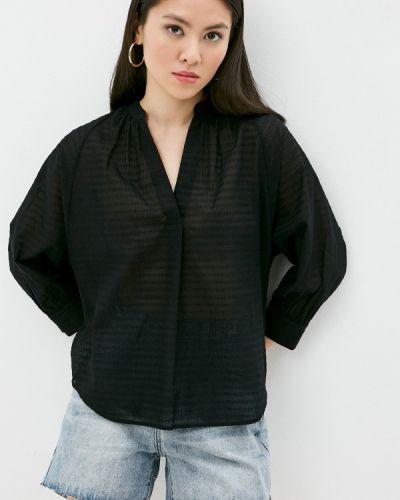 Блузка с длинными рукавами - черная Windsor