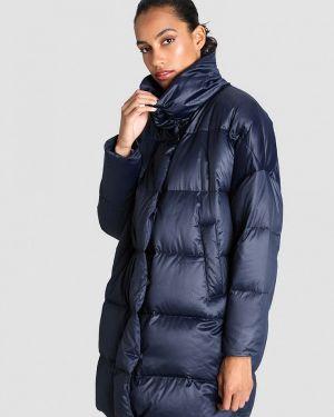 Зимняя куртка осенняя синий Ostin