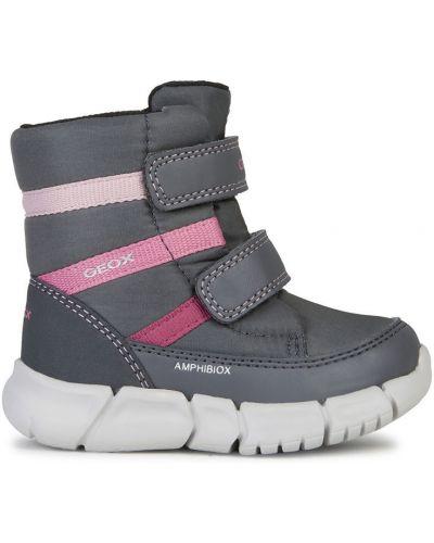Ботинки серые Geox