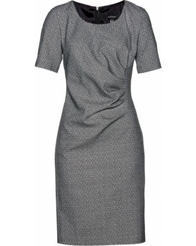 Платье футляр с драпировкой Bonprix