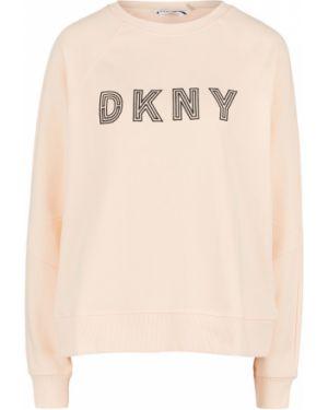 Свитшот с вышивкой Dkny