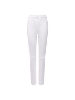 Хлопковые джинсы - белые Denim X Alexander Wang