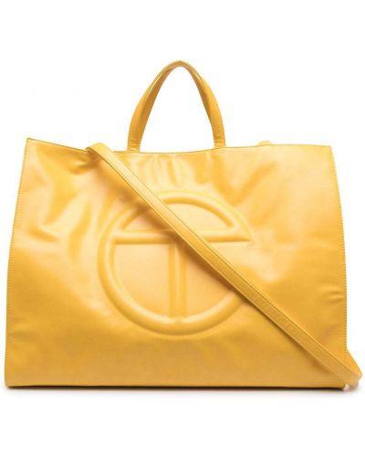 Żółta torba na ramię Telfar