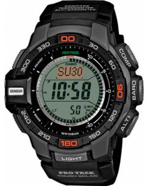 Кварцевые часы с подсветкой пластиковые Casio