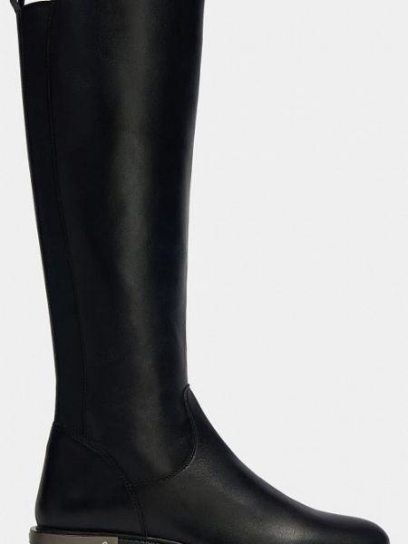 Текстильные черные ботинки на каблуке на каблуке Ralf Ringer