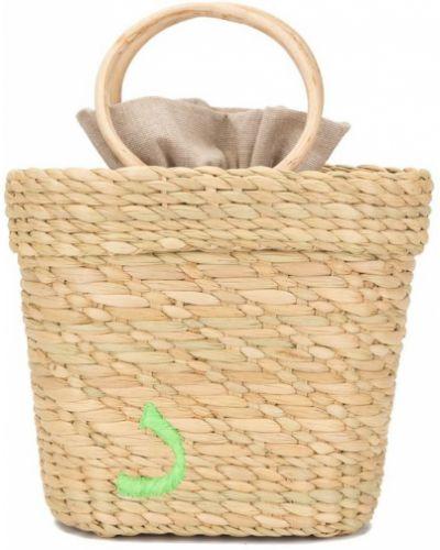 Маленькая сумка с вышивкой сумка-тоут Poolside