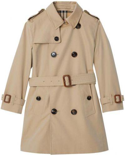Płaszcz z mankietami z klapami Burberry