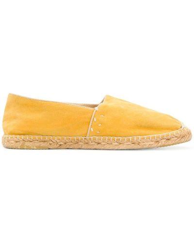 Эспадрильи желтый Gucci Vintage