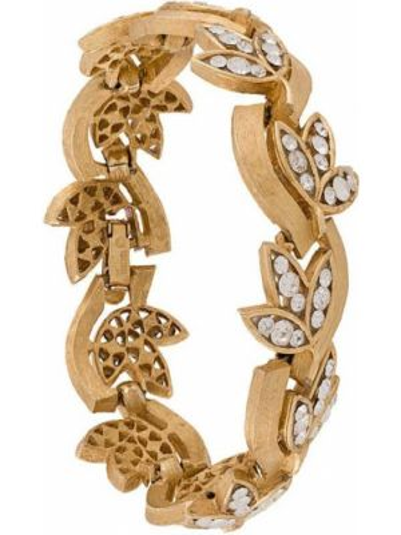 Złota bransoletka ze złota pozłacana vintage Trifari Vintage