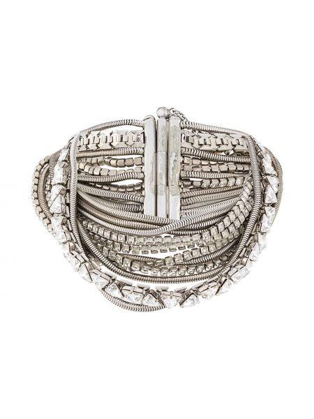 Naszyjnik ze srebra metal Gianfranco Ferré Pre-owned