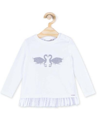 Белая блуза Coccodrillo