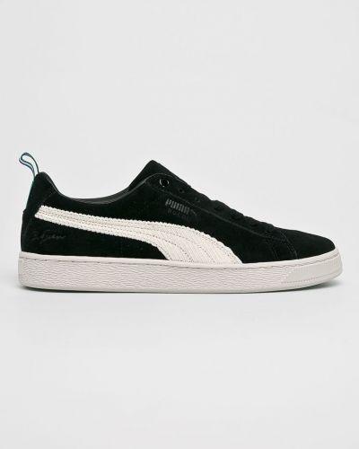 Кроссовки замшевые текстильные Puma