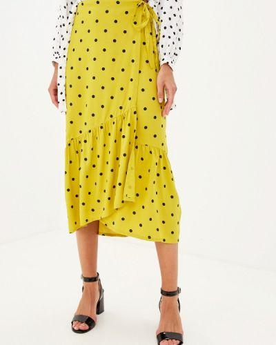 Юбка широкая желтый Miss Selfridge