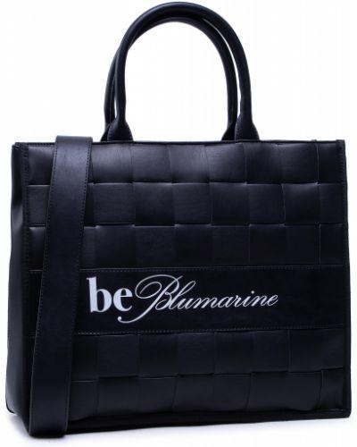 Czarna klasyczna torebka Blumarine