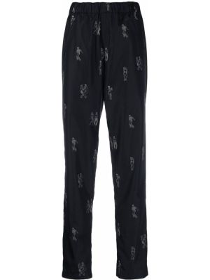 Czarne spodnie Kirin