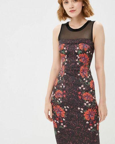 Платье осеннее фиолетовый Karen Millen