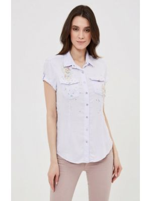Рубашка - голубая D'she