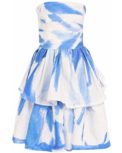 Платье мини с оборками хлопковое Ralph Lauren
