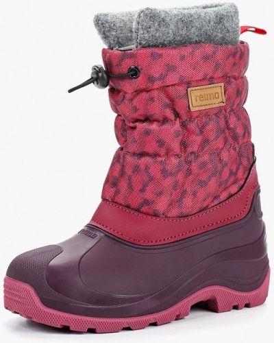 Дутики розовый Reima