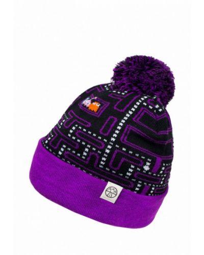 Фиолетовая шапка 5000 Miles