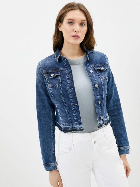 Джинсовая куртка осенняя синий Cartoon