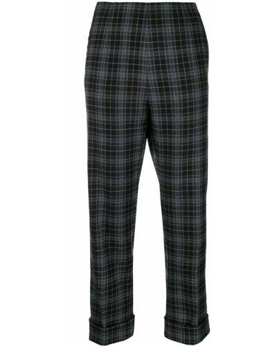 Укороченные брюки с завышенной талией брюки-хулиганы Antonio Marras