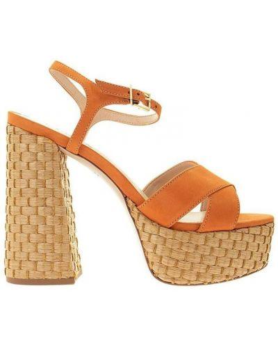 Pomarańczowe sandały Schutz