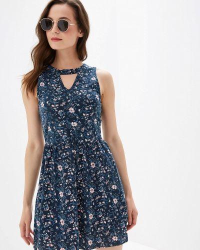 Платье прямое синее Colin's