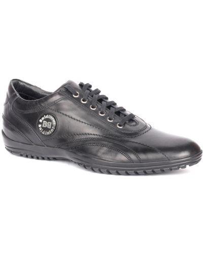 Черные кроссовки Baldinini