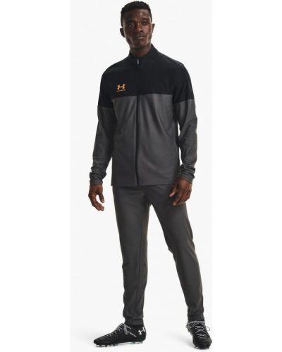 Серый спортивный костюм осенний Under Armour