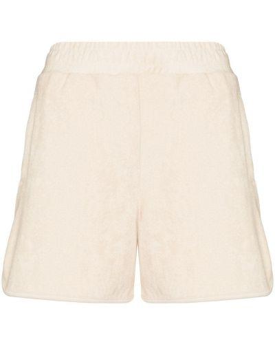 Beżowe szorty bawełniane Varley